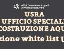 Iscrizione White List USRA: tutto quello che c'è da sapere