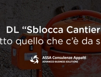 "DL ""Sblocca Cantieri"""