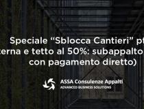 "Speciale ""Sblocca-cantieri"" pt.2"
