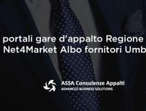 Nuovi portali gare d'appalto Regione Umbria e Net4Market Albo fornitori Umbria