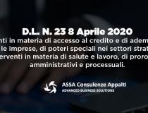 Decreto Legge 23 – 8 Aprile 2020