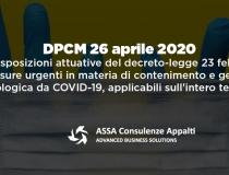 DPCM 26 aprile 2020