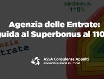 Agenzia delle Entrate: guida al Superbonus 110%